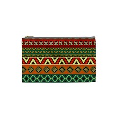 Mexican Folk Art Patterns Cosmetic Bag (small)
