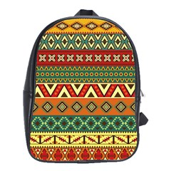 Mexican Folk Art Patterns School Bags(large)