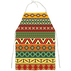 Mexican Folk Art Patterns Full Print Aprons