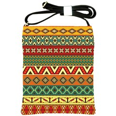 Mexican Folk Art Patterns Shoulder Sling Bags