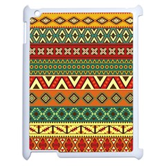 Mexican Folk Art Patterns Apple Ipad 2 Case (white)