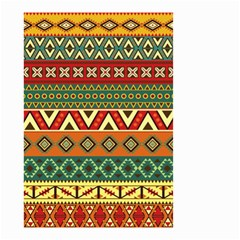 Mexican Folk Art Patterns Small Garden Flag (two Sides)