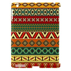 Mexican Folk Art Patterns Apple Ipad 3/4 Hardshell Case (compatible With Smart Cover)