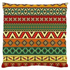 Mexican Folk Art Patterns Large Cushion Case (one Side)