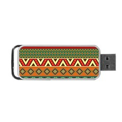 Mexican Folk Art Patterns Portable Usb Flash (two Sides)