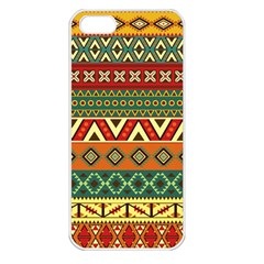 Mexican Folk Art Patterns Apple Iphone 5 Seamless Case (white)