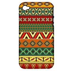 Mexican Folk Art Patterns Apple Iphone 4/4s Hardshell Case (pc+silicone)