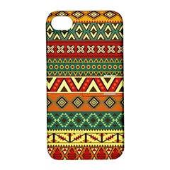 Mexican Folk Art Patterns Apple Iphone 4/4s Hardshell Case With Stand