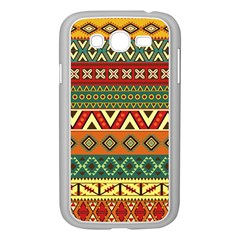 Mexican Folk Art Patterns Samsung Galaxy Grand Duos I9082 Case (white)