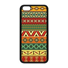 Mexican Folk Art Patterns Apple Iphone 5c Seamless Case (black)