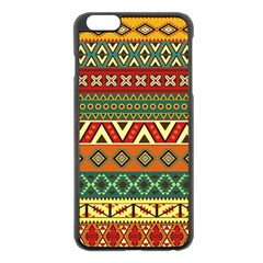 Mexican Folk Art Patterns Apple iPhone 6 Plus/6S Plus Black Enamel Case