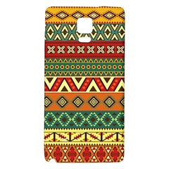 Mexican Folk Art Patterns Galaxy Note 4 Back Case