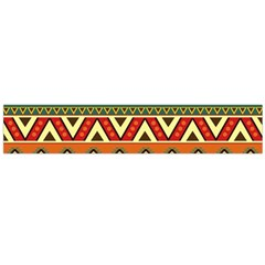 Mexican Folk Art Patterns Flano Scarf (Large)