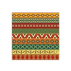 Mexican Folk Art Patterns Satin Bandana Scarf