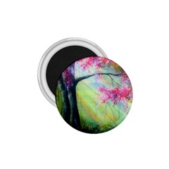 Forests Stunning Glimmer Paintings Sunlight Blooms Plants Love Seasons Traditional Art Flowers Sunsh 1 75  Magnets