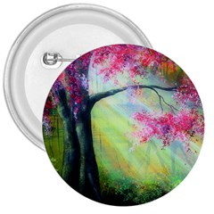 Forests Stunning Glimmer Paintings Sunlight Blooms Plants Love Seasons Traditional Art Flowers Sunsh 3  Buttons