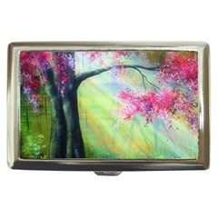Forests Stunning Glimmer Paintings Sunlight Blooms Plants Love Seasons Traditional Art Flowers Sunsh Cigarette Money Cases