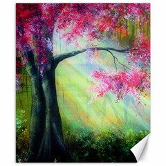 Forests Stunning Glimmer Paintings Sunlight Blooms Plants Love Seasons Traditional Art Flowers Sunsh Canvas 8  X 10
