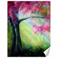 Forests Stunning Glimmer Paintings Sunlight Blooms Plants Love Seasons Traditional Art Flowers Sunsh Canvas 12  X 16