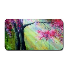 Forests Stunning Glimmer Paintings Sunlight Blooms Plants Love Seasons Traditional Art Flowers Sunsh Medium Bar Mats