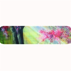 Forests Stunning Glimmer Paintings Sunlight Blooms Plants Love Seasons Traditional Art Flowers Sunsh Large Bar Mats