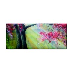 Forests Stunning Glimmer Paintings Sunlight Blooms Plants Love Seasons Traditional Art Flowers Sunsh Cosmetic Storage Cases
