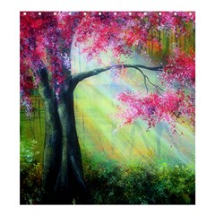 Forests Stunning Glimmer Paintings Sunlight Blooms Plants Love Seasons Traditional Art Flowers Sunsh Shower Curtain 66  X 72  (large)