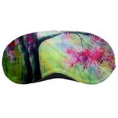 Forests Stunning Glimmer Paintings Sunlight Blooms Plants Love Seasons Traditional Art Flowers Sunsh Sleeping Masks