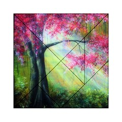 Forests Stunning Glimmer Paintings Sunlight Blooms Plants Love Seasons Traditional Art Flowers Sunsh Acrylic Tangram Puzzle (6  X 6 )