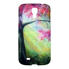 Forests Stunning Glimmer Paintings Sunlight Blooms Plants Love Seasons Traditional Art Flowers Sunsh Samsung Galaxy S4 I9500/i9505 Hardshell Case