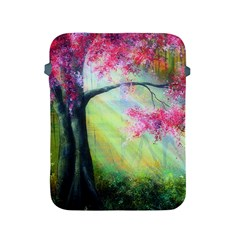 Forests Stunning Glimmer Paintings Sunlight Blooms Plants Love Seasons Traditional Art Flowers Sunsh Apple Ipad 2/3/4 Protective Soft Cases