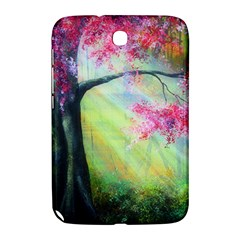 Forests Stunning Glimmer Paintings Sunlight Blooms Plants Love Seasons Traditional Art Flowers Sunsh Samsung Galaxy Note 8 0 N5100 Hardshell Case