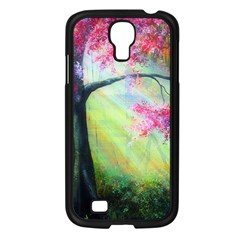 Forests Stunning Glimmer Paintings Sunlight Blooms Plants Love Seasons Traditional Art Flowers Sunsh Samsung Galaxy S4 I9500/ I9505 Case (black)