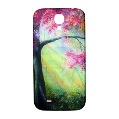 Forests Stunning Glimmer Paintings Sunlight Blooms Plants Love Seasons Traditional Art Flowers Sunsh Samsung Galaxy S4 I9500/i9505  Hardshell Back Case