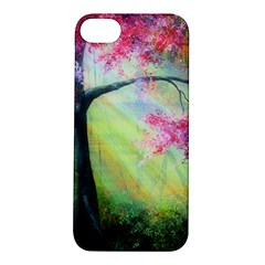 Forests Stunning Glimmer Paintings Sunlight Blooms Plants Love Seasons Traditional Art Flowers Sunsh Apple Iphone 5s/ Se Hardshell Case
