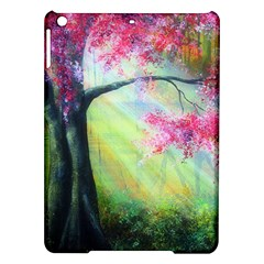 Forests Stunning Glimmer Paintings Sunlight Blooms Plants Love Seasons Traditional Art Flowers Sunsh Ipad Air Hardshell Cases