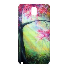 Forests Stunning Glimmer Paintings Sunlight Blooms Plants Love Seasons Traditional Art Flowers Sunsh Samsung Galaxy Note 3 N9005 Hardshell Back Case