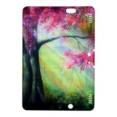 Forests Stunning Glimmer Paintings Sunlight Blooms Plants Love Seasons Traditional Art Flowers Sunsh Kindle Fire Hdx 8 9  Hardshell Case