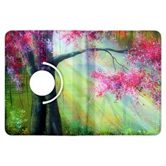 Forests Stunning Glimmer Paintings Sunlight Blooms Plants Love Seasons Traditional Art Flowers Sunsh Kindle Fire Hdx Flip 360 Case