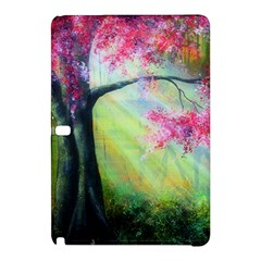 Forests Stunning Glimmer Paintings Sunlight Blooms Plants Love Seasons Traditional Art Flowers Sunsh Samsung Galaxy Tab Pro 10.1 Hardshell Case
