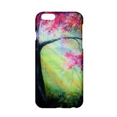 Forests Stunning Glimmer Paintings Sunlight Blooms Plants Love Seasons Traditional Art Flowers Sunsh Apple Iphone 6/6s Hardshell Case