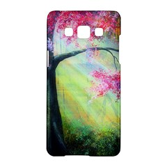 Forests Stunning Glimmer Paintings Sunlight Blooms Plants Love Seasons Traditional Art Flowers Sunsh Samsung Galaxy A5 Hardshell Case