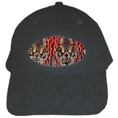 Indian Traditional Art Pattern Black Cap