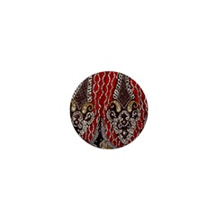 Indian Traditional Art Pattern 1  Mini Magnets