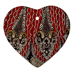 Indian Traditional Art Pattern Ornament (heart)