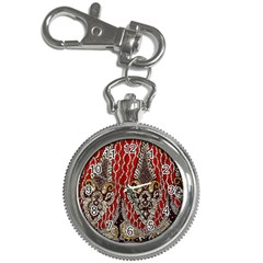 Indian Traditional Art Pattern Key Chain Watches