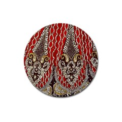 Indian Traditional Art Pattern Magnet 3  (round)
