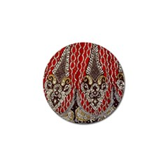 Indian Traditional Art Pattern Golf Ball Marker (10 Pack)