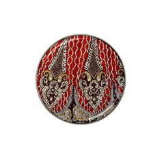 Indian Traditional Art Pattern Hat Clip Ball Marker (4 Pack)
