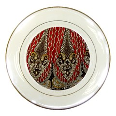 Indian Traditional Art Pattern Porcelain Plates